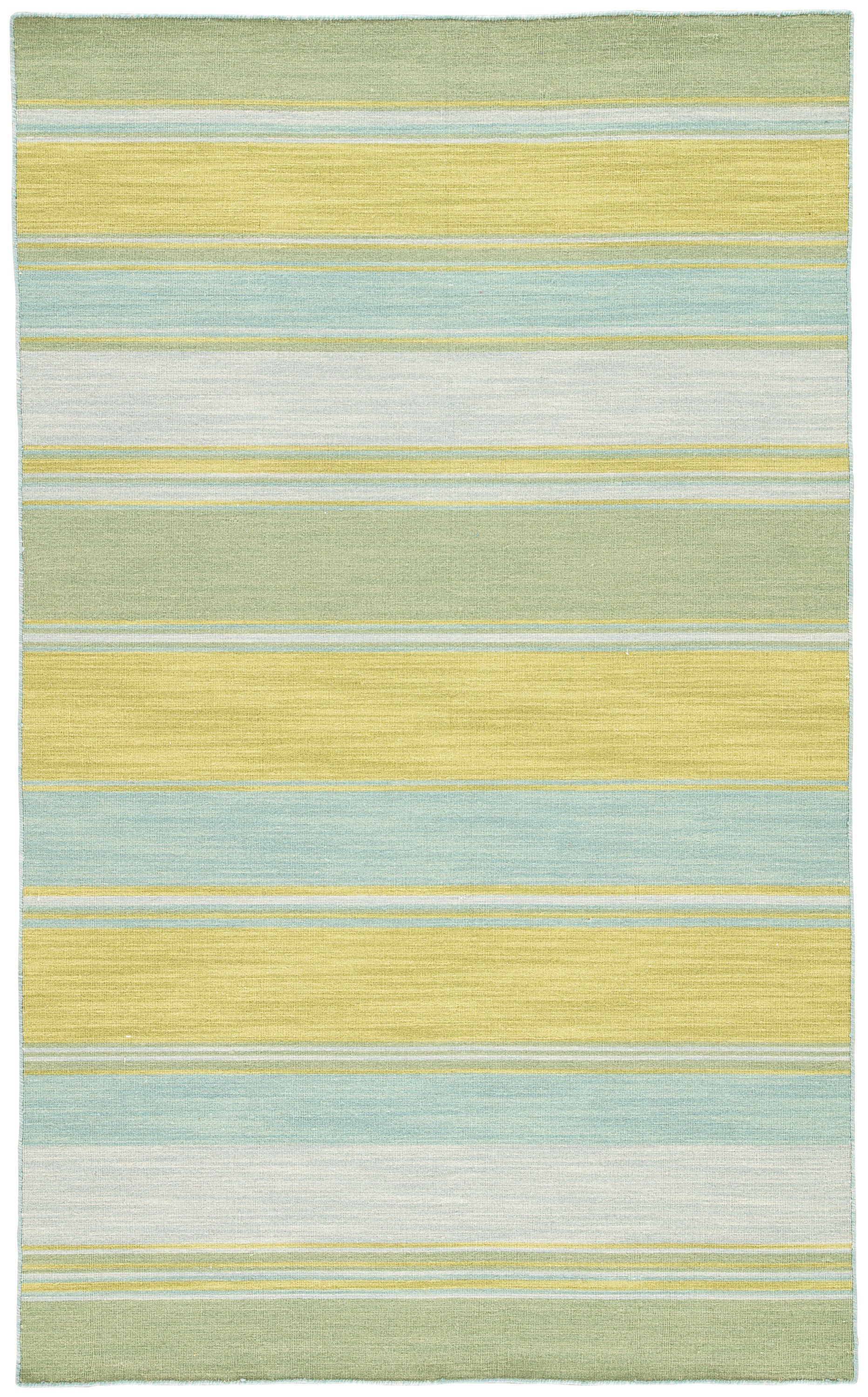 Rectangle Blue Stripe Dhurrie Wool Transitional recommended for Bedroom, Bathroom, Dining Room, Office, Hallway, Living Room