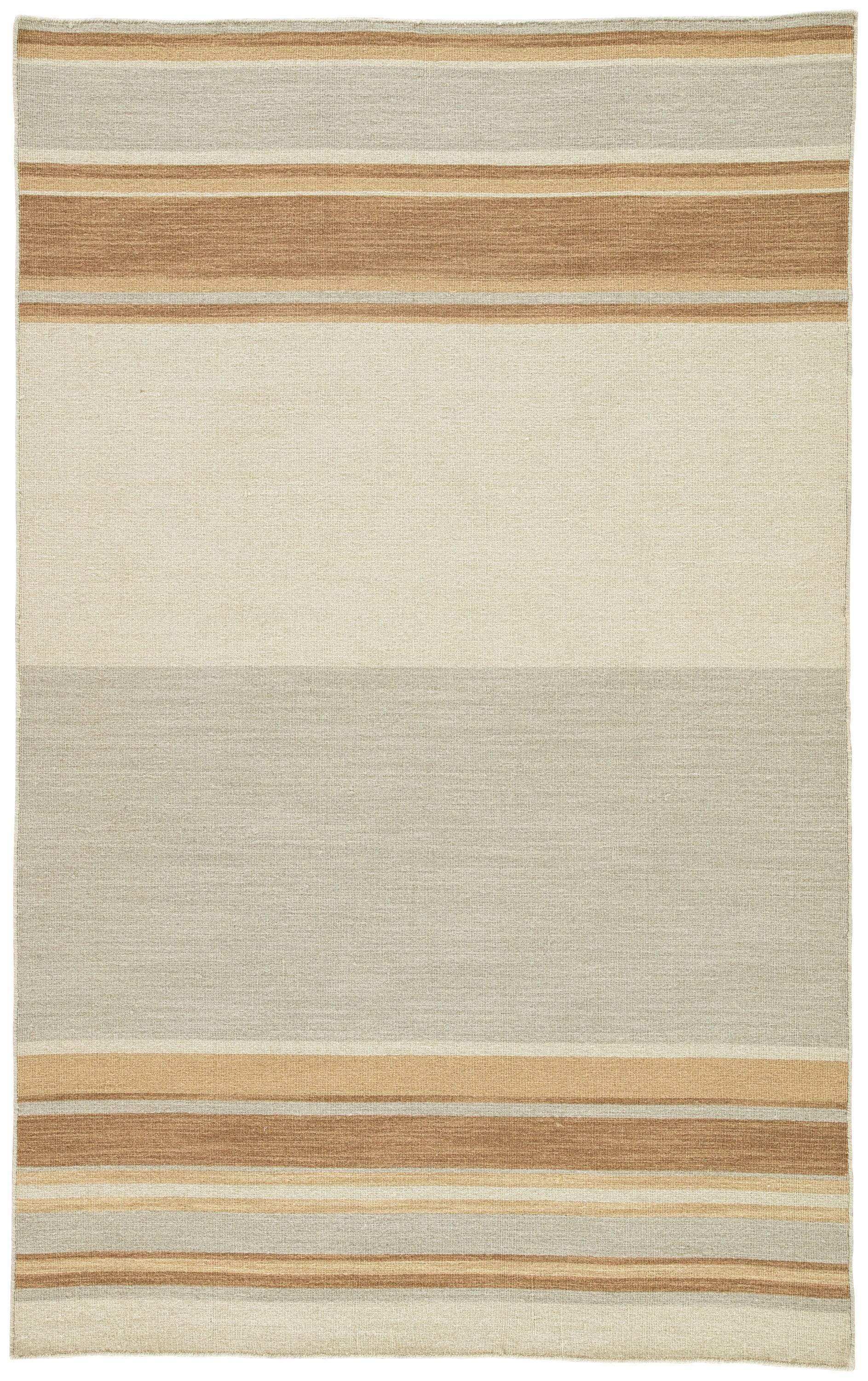 Rectangle Brown Stripe Dhurrie Wool Transitional recommended for Kitchen, Bedroom, Bathroom, Dining Room, Office, Hallway, Living Room