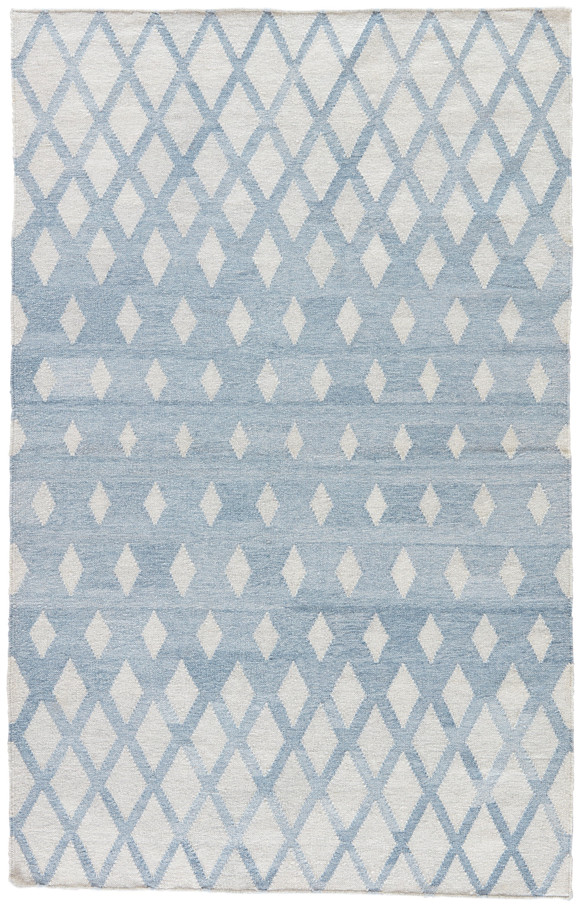 Rectangle Blue Geometric Dhurrie Synthetics Contemporary recommended for Bedroom, Bathroom, Outdoor, Dining Room, Office, Hallway, Living Room