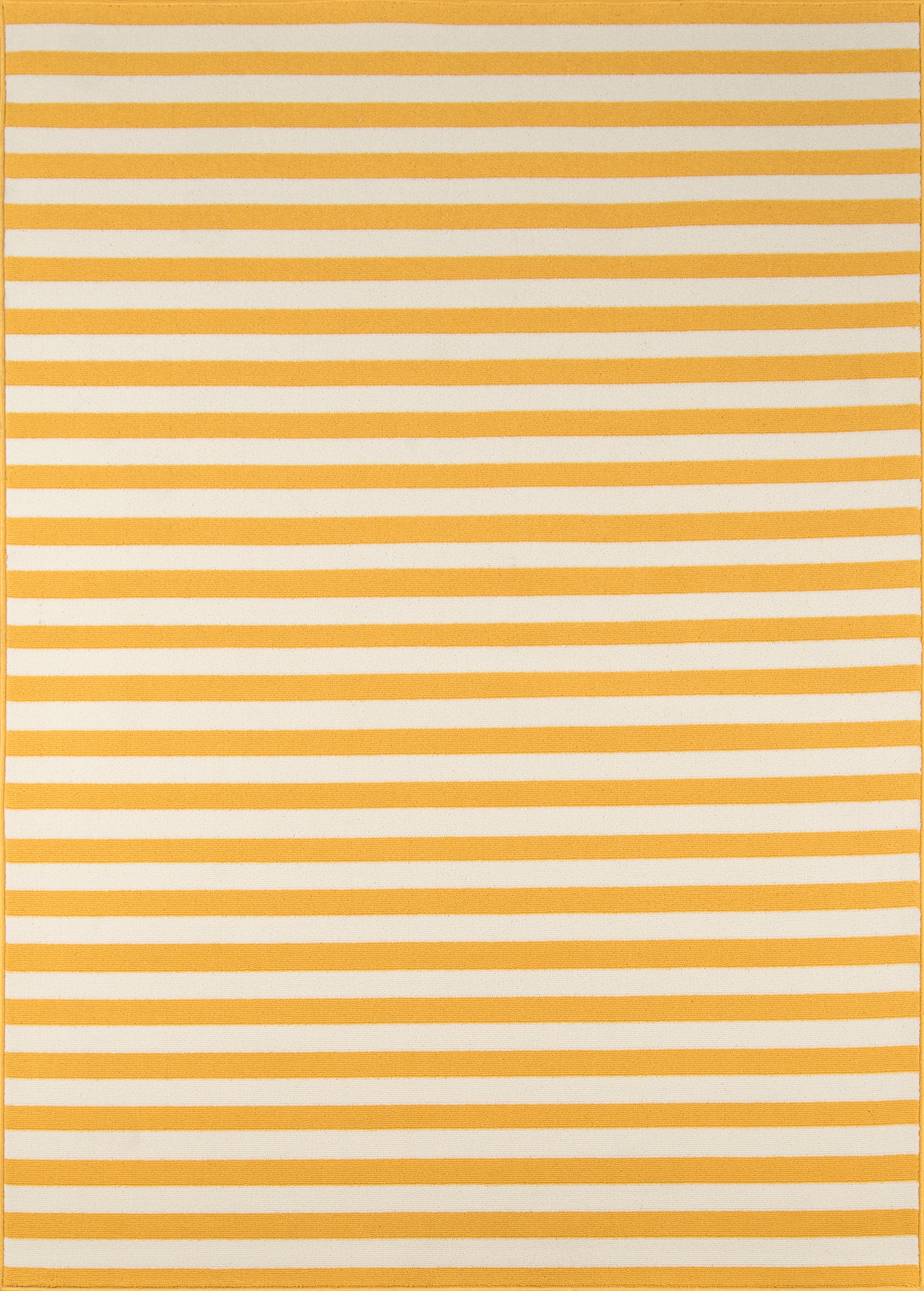Rectangle 18x37 Yellow Striped Machine Made Synthetics Contemporary recommended for Kitchen, Bedroom, Bathroom, Outdoor, Dining Room, Office, Hallway, Living Room