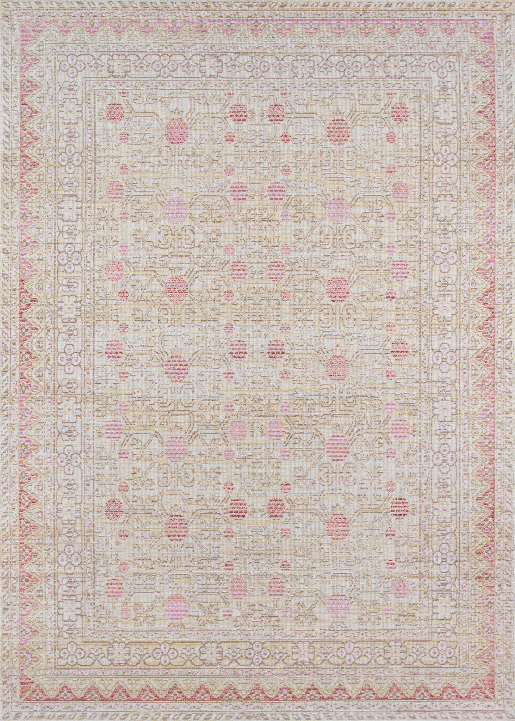 Rectangle Pink Oriental Machine Made Synthetics Traditional & Oriental recommended for Kitchen, Bedroom, Bathroom, Kids, Dining Room, Office, Hallway, Living Room