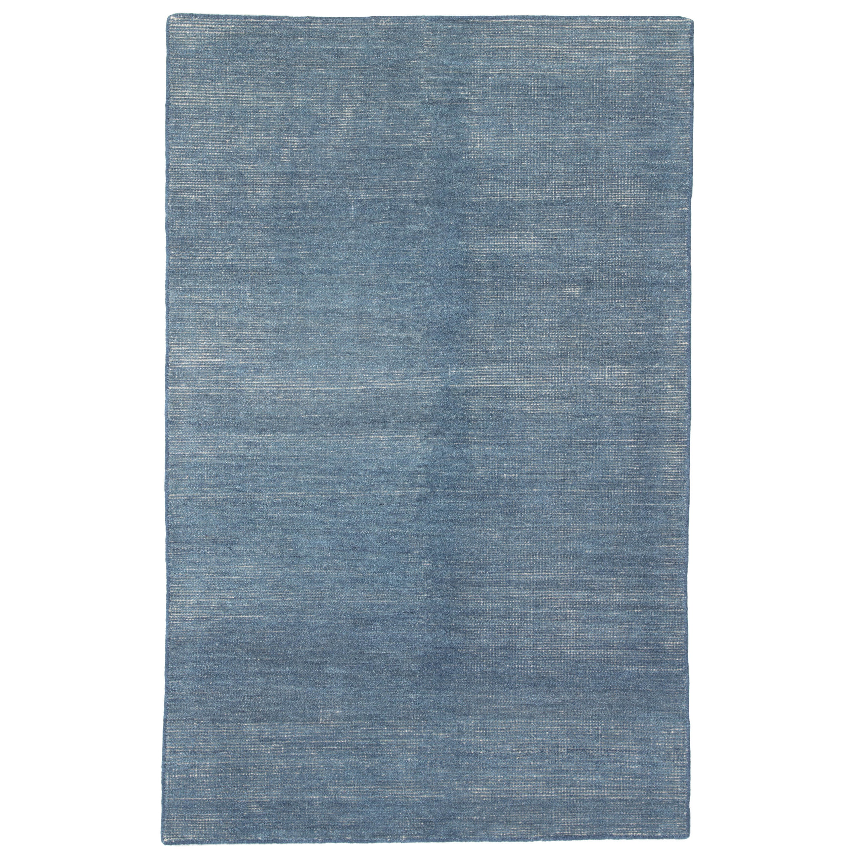 Rectangle Blue Solid Hand Knotted Blends Transitional recommended for Bedroom, Bathroom, Dining Room, Office, Hallway, Living Room