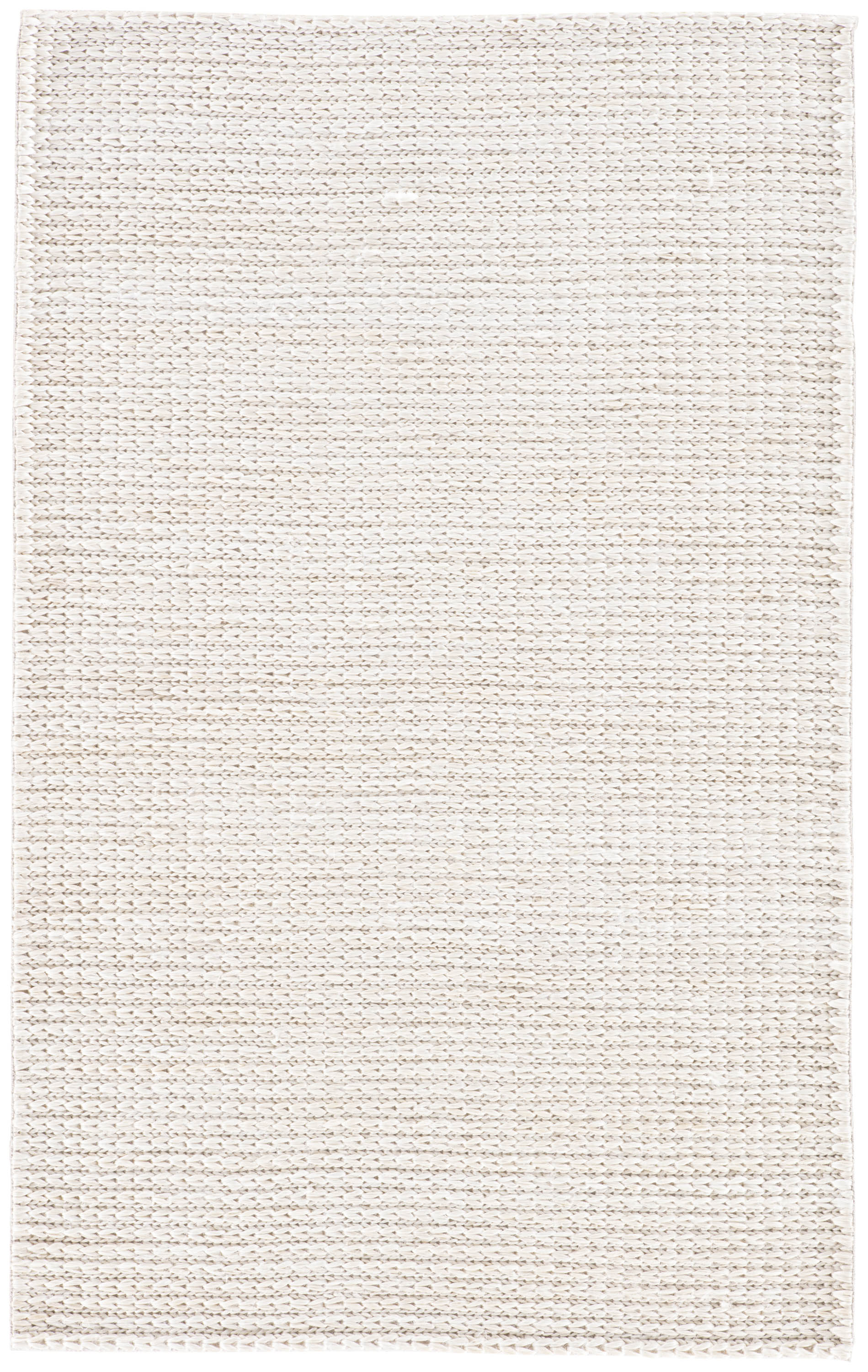 Rectangle White Solid Hand Woven Jute & Natural Fibers Casual recommended for Bedroom, Bathroom, Dining Room, Office, Hallway, Living Room