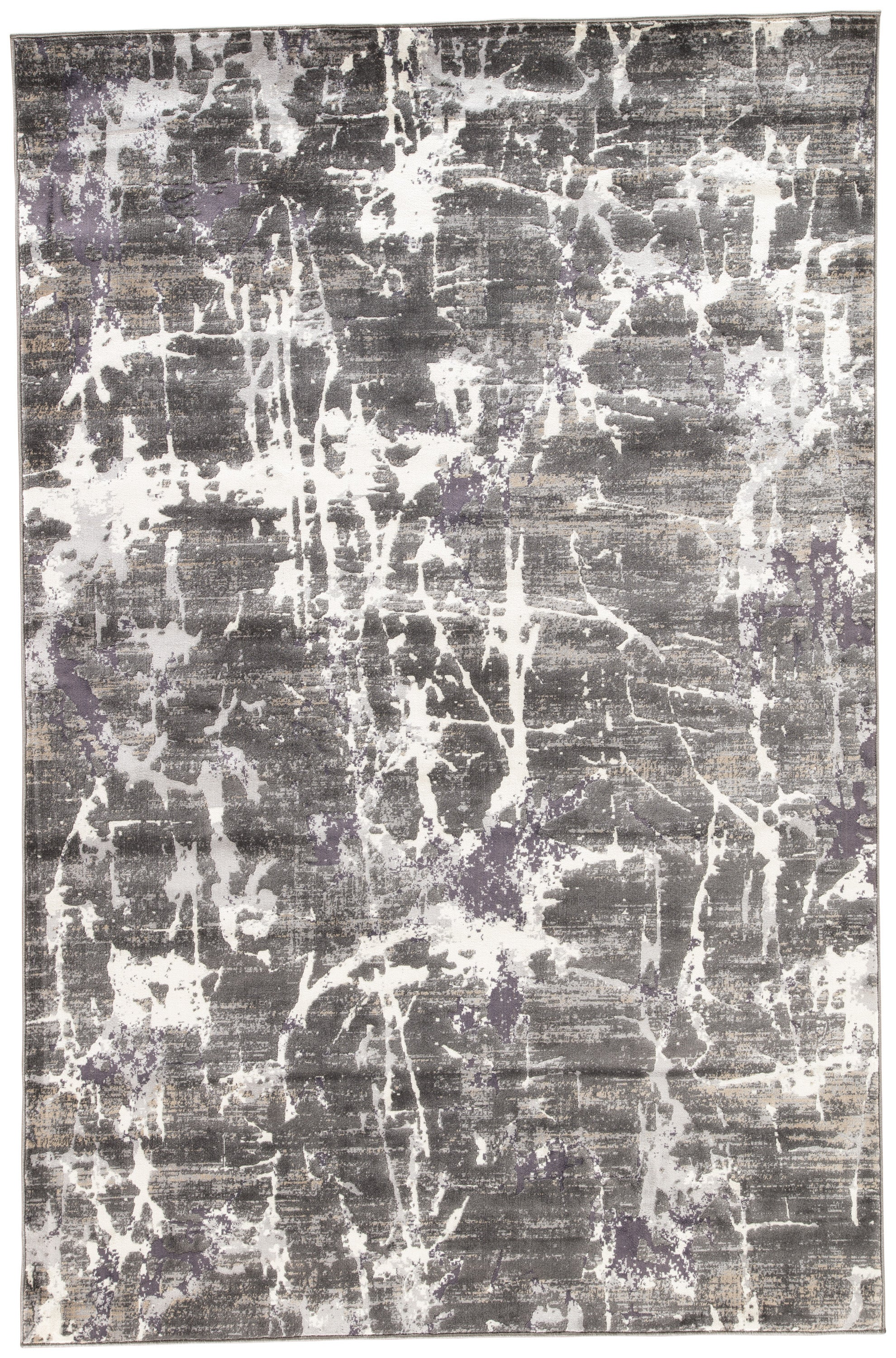 Rectangle 12x15 Gray Abstract Machine Made Synthetics Modern recommended for Bedroom, Bathroom, Dining Room, Office, Hallway, Living Room