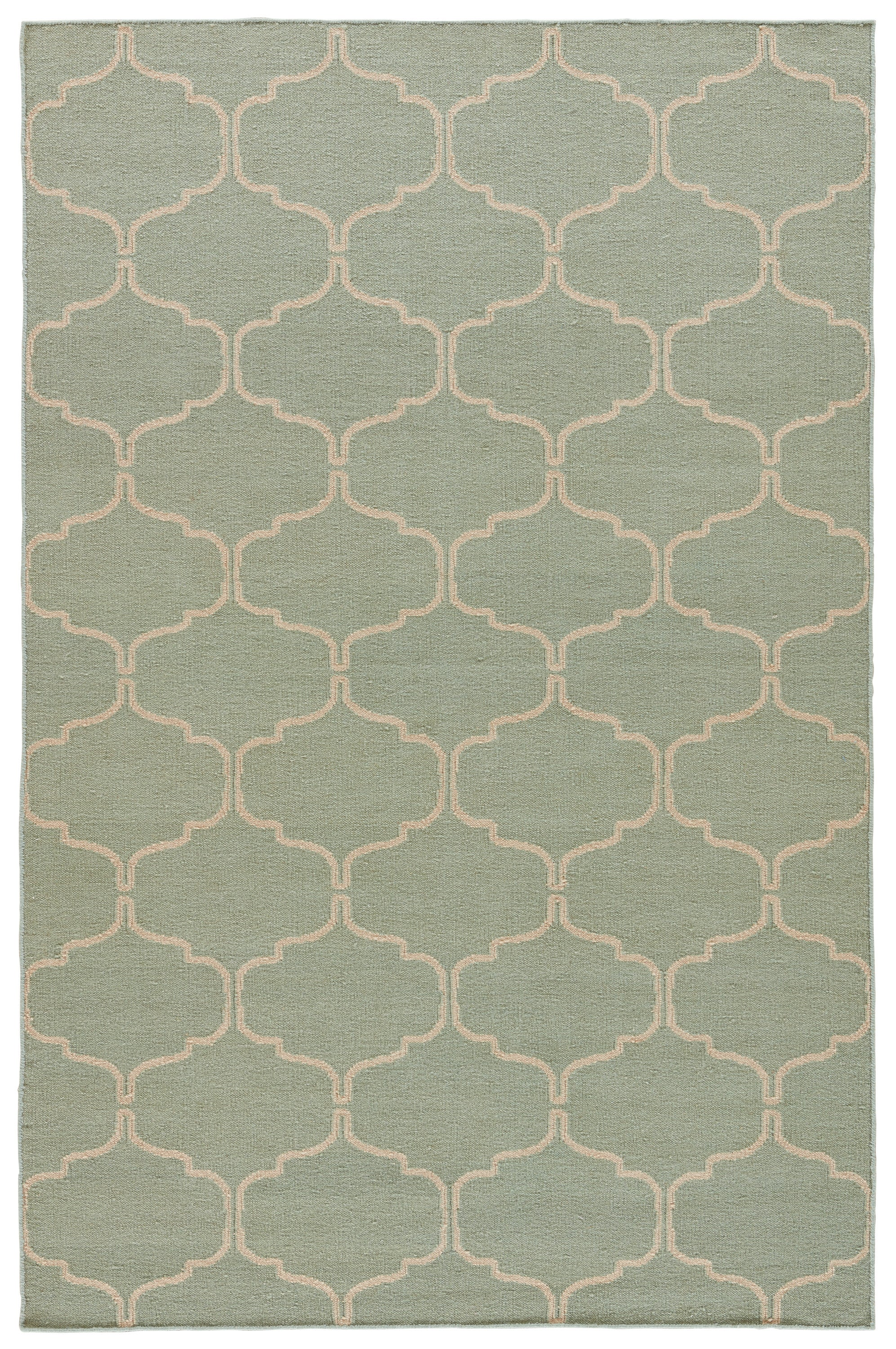 Rectangle Blue Trellis Dhurrie Wool Contemporary recommended for Bedroom, Bathroom, Dining Room, Office, Hallway, Living Room