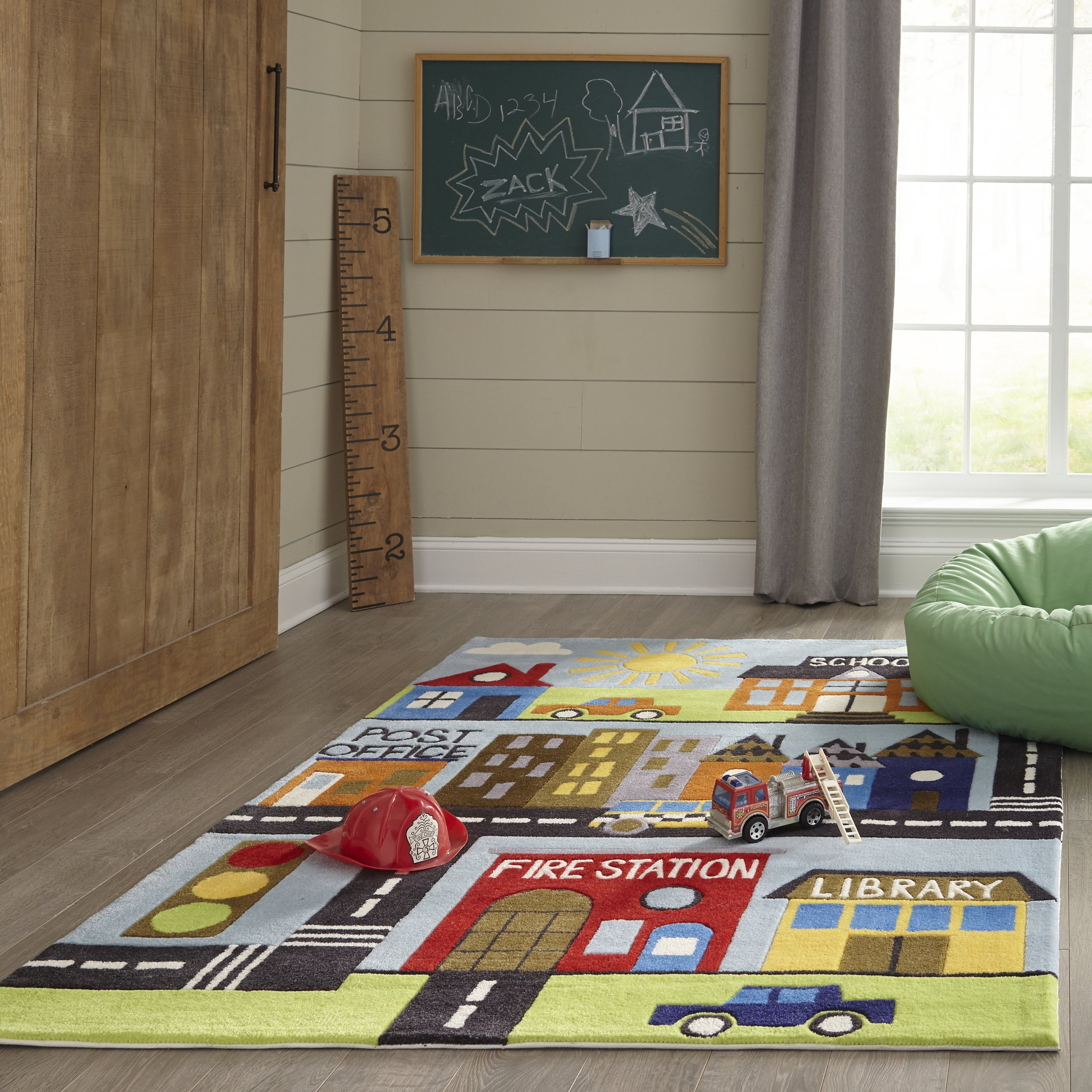 Rectangle, Round Multicolor Novelty Hand Tufted Synthetics Contemporary recommended for Kids