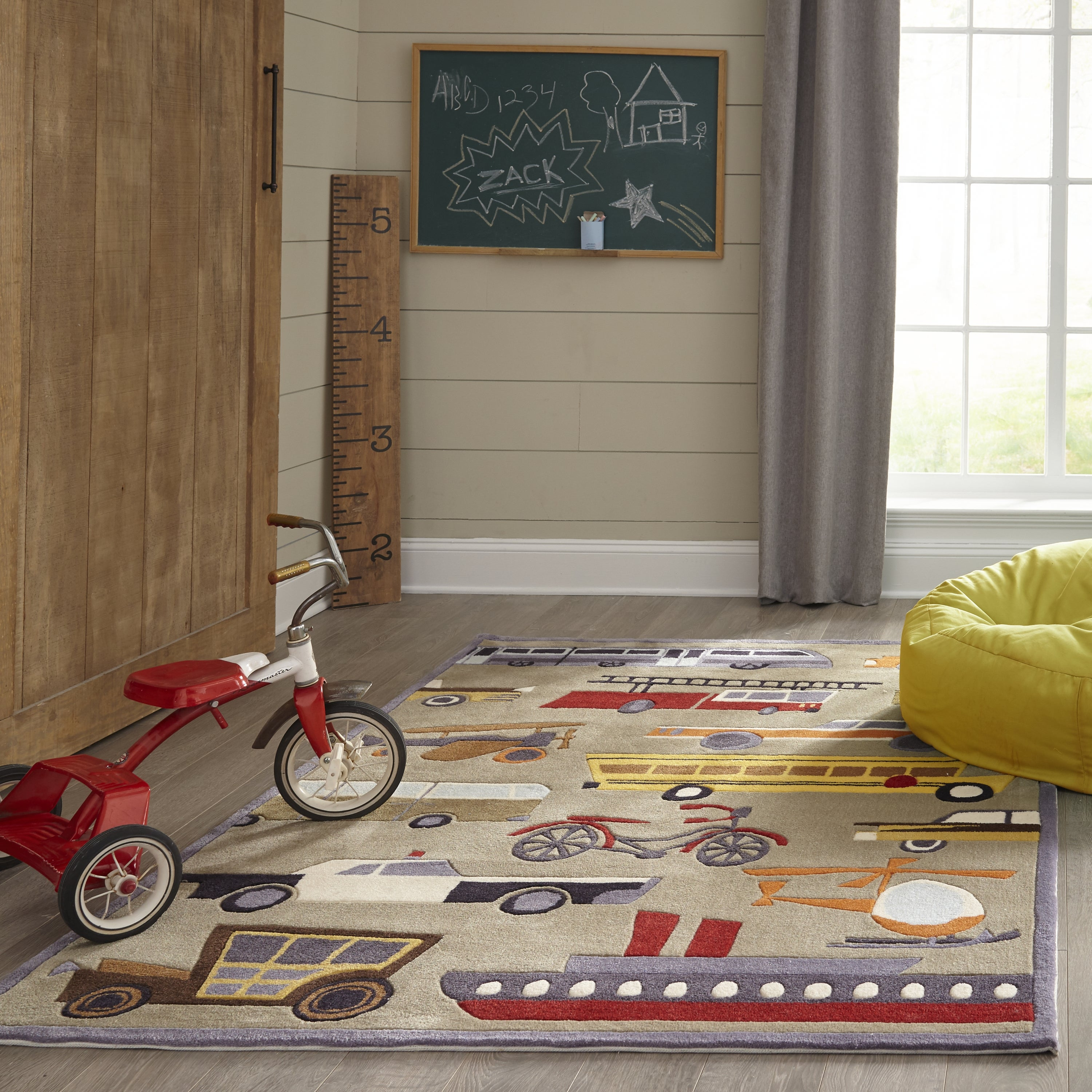 Rectangle, Round Lightbrown Novelty Hand Tufted Synthetics Contemporary recommended for Kids