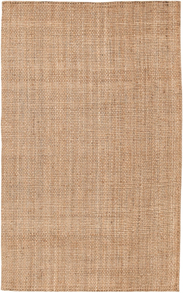 Rectangle Tan Solid Hand Woven Jute & Natural Fibers Casual recommended for Bedroom, Bathroom, Dining Room, Office, Hallway, Living Room
