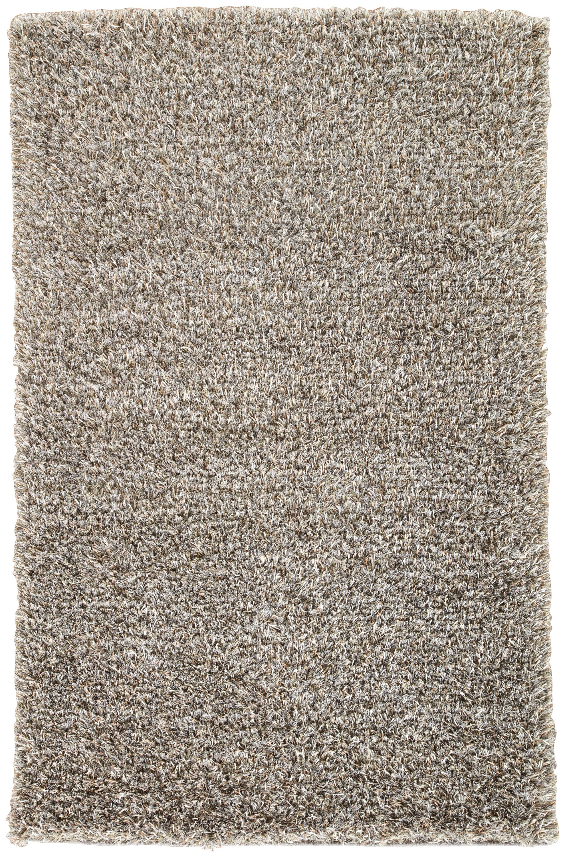 Rectangle Gray Solid Shag Blends Shag recommended for Bedroom, Bathroom, Dining Room, Office, Hallway, Living Room