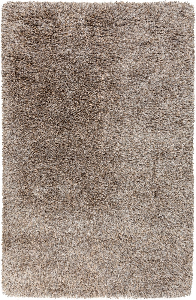 Rectangle Lightbrown Solid Hand Woven Blends Shag recommended for Bedroom, Bathroom, Dining Room, Office, Hallway, Living Room
