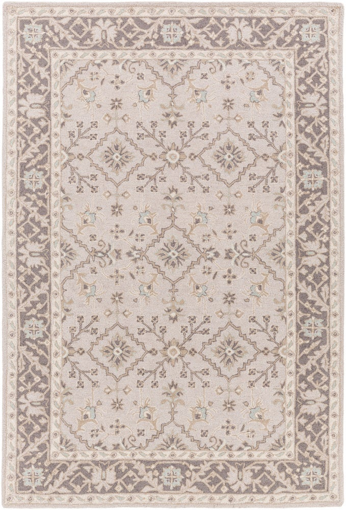 Rectangle Tan Traditional/oriental Hand Hooked Wool Traditional & Oriental recommended for Kitchen, Bedroom, Bathroom, Dining Room, Office, Hallway, Living Room