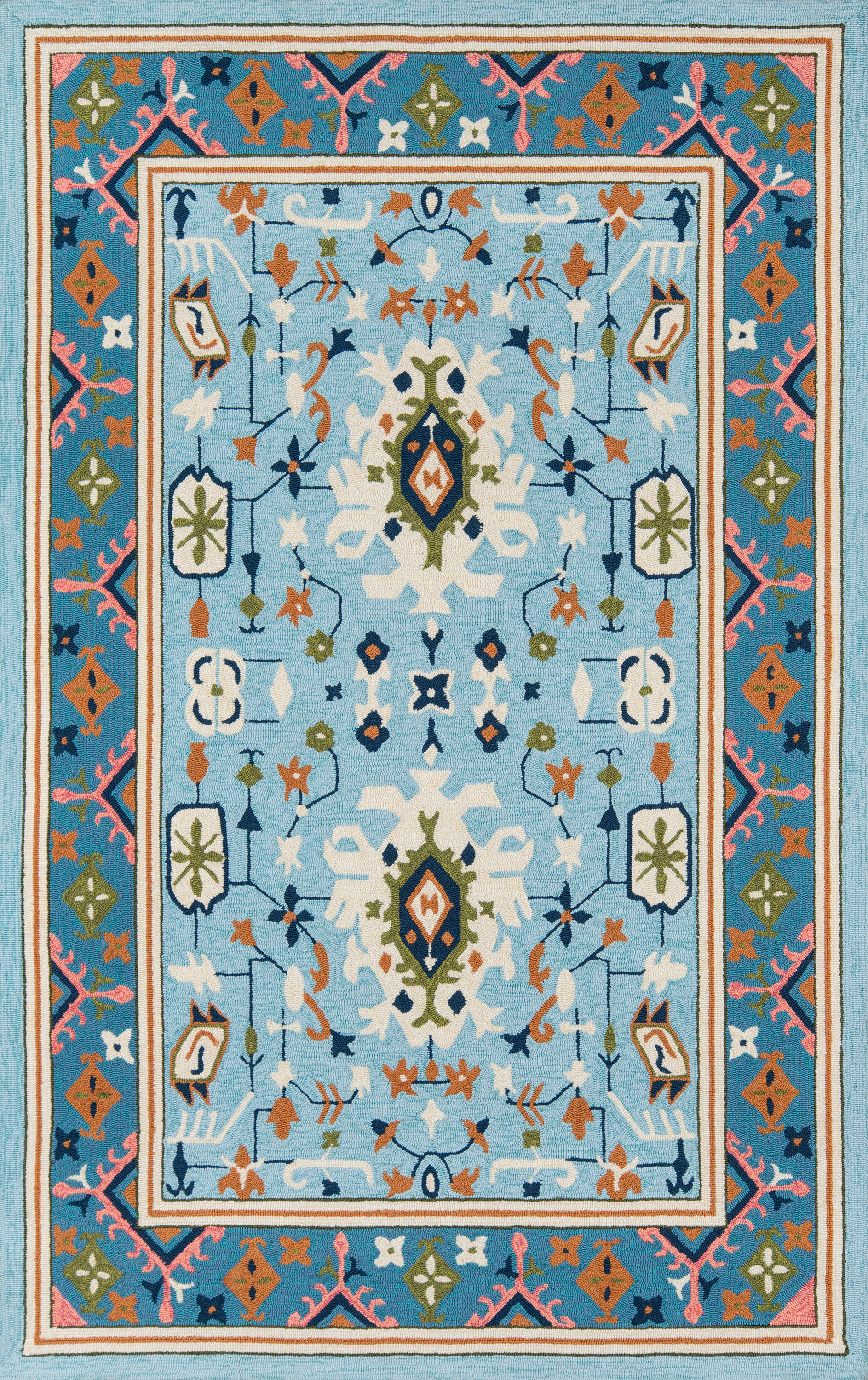 Rectangle, Round Blue Oriental Hand Hooked Synthetics Traditional & Oriental recommended for Bedroom, Bathroom, Outdoor, Dining Room, Office, Hallway, Living Room