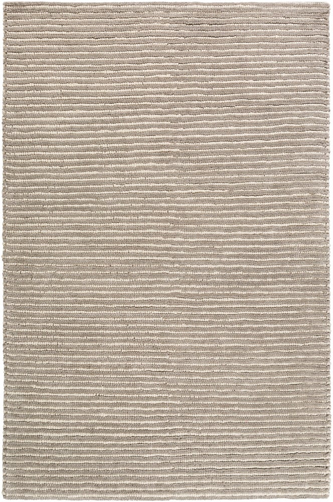 Rectangle 6x9 Gray Solid Hand Woven Wool Contemporary recommended for Kitchen, Bedroom, Bathroom, Dining Room, Office, Hallway, Living Room