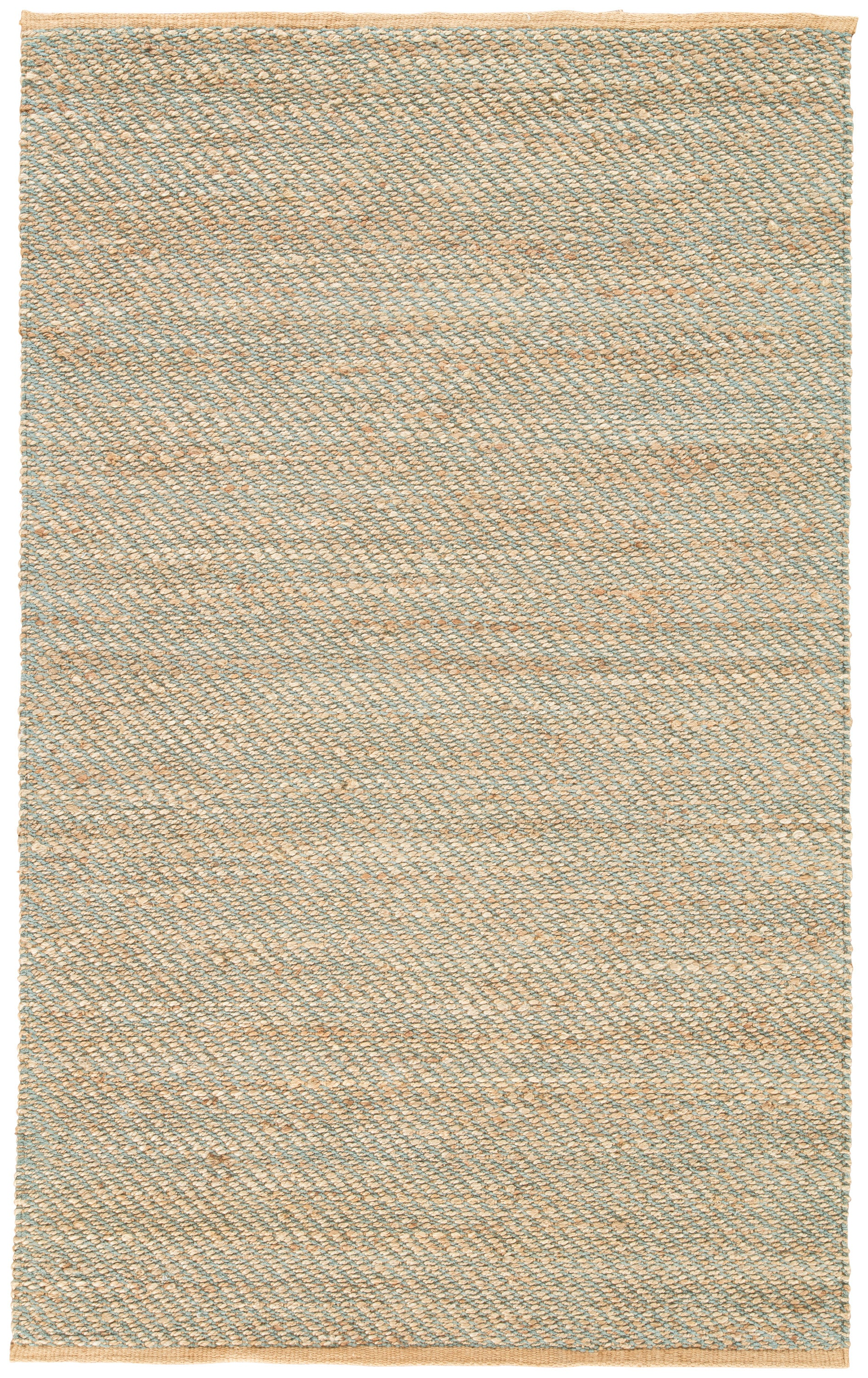 Rectangle Lightblue Solid Hand Woven Blends Transitional recommended for Bedroom, Bathroom, Dining Room, Office, Hallway, Living Room