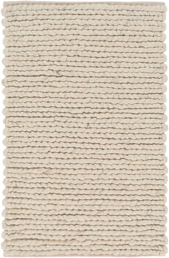 Rectangle Cream Solid Hand Woven Wool Casual recommended for Kitchen, Bedroom, Bathroom, Dining Room, Office, Hallway, Living Room