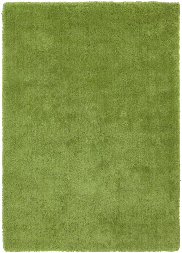 Rectangle, Round 5x7 Green Solid Hand Tufted Synthetics Shag recommended for Kitchen, Bedroom, Bathroom, Dining Room, Office, Hallway, Living Room
