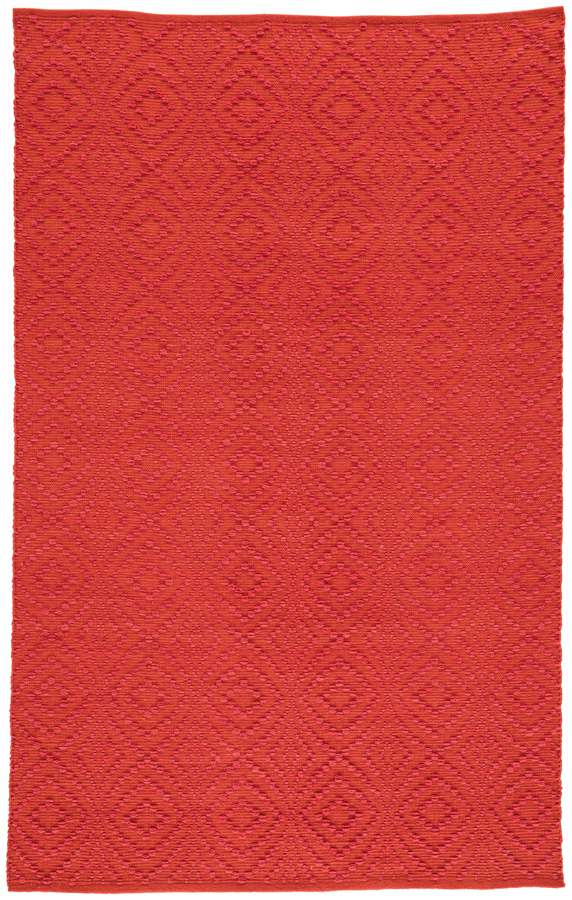 Rectangle 5x8 Red Trellis Hand Woven Synthetics Contemporary recommended for Bedroom, Bathroom, Outdoor, Dining Room, Office, Hallway, Living Room