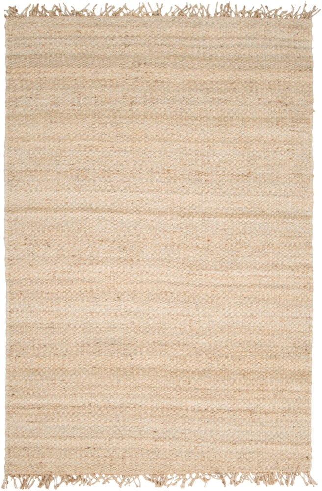 Rectangle, Square, Round Cream Solid Hand Woven Jute & Natural Fibers Casual recommended for Kitchen, Bedroom, Bathroom, Dining Room, Office, Hallway, Living Room