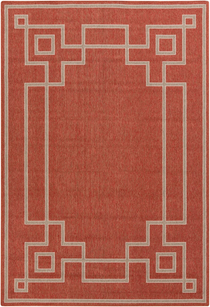 Rectangle, Round, Square 36x56 Red Border Machine Made Synthetics Casual recommended for Kitchen, Bedroom, Bathroom, Dining Room, Patio, Office, Hallway, Living Room