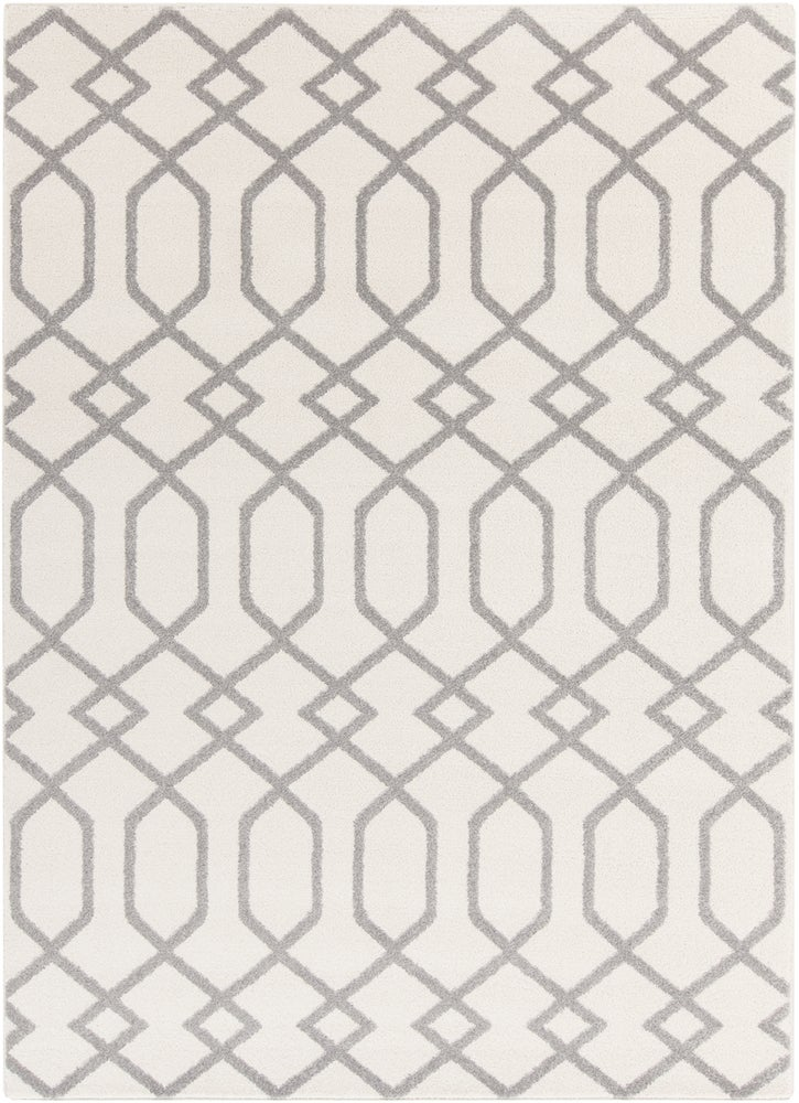 Rectangle, Round 33x5 Gray Geometric Machine Made Synthetics Transitional recommended for Kitchen, Bedroom, Bathroom, Dining Room, Office, Hallway, Living Room