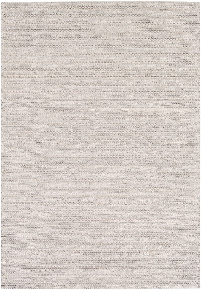 Rectangle 6x9 Lightgray Solid Hand Woven Blends Casual recommended for Kitchen, Bedroom, Bathroom, Dining Room, Office, Hallway, Living Room