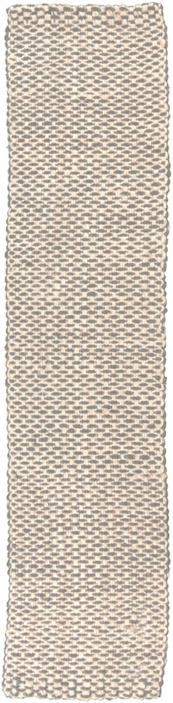 Rectangle Gray Solid Hand Woven Jute & Natural Fibers Casual recommended for Bedroom, Bathroom, Dining Room, Office, Hallway, Living Room