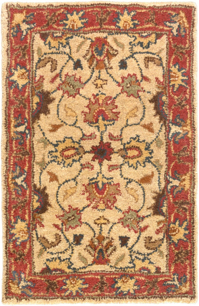 Square, Rectangle, Oval, Hearth, Round Red Traditional/oriental Hand Tufted Wool Traditional & Oriental recommended for Kitchen, Bedroom, Bathroom, Dining Room, Office, Hallway, Living Room